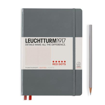 LEUCHTTURM 1917 德国灯塔 NoteBook  A5中开硬封皮红点Red Dots 红点系列笔记本硬封皮