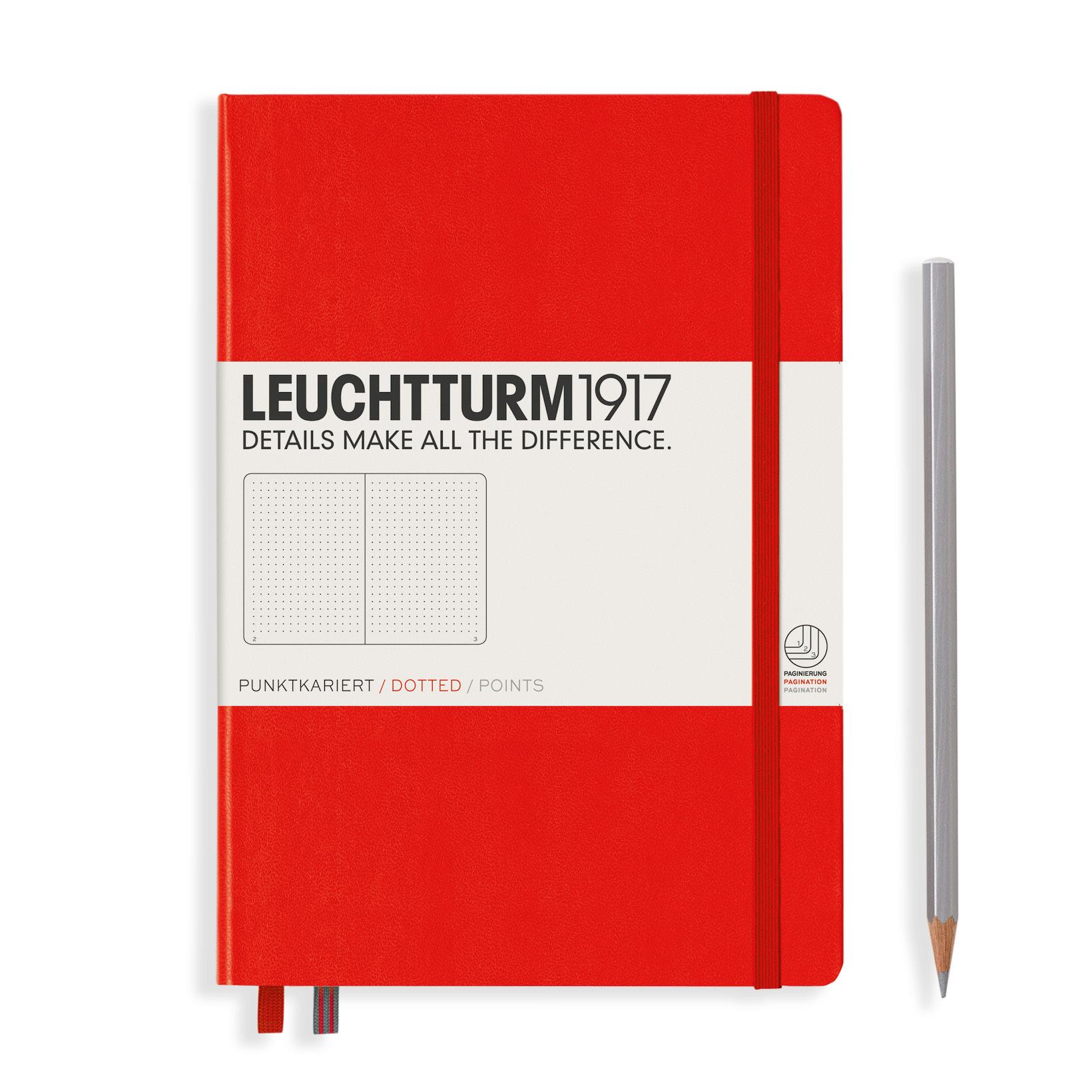 LEUCHTTURM 1917 德国灯塔 NoteBook A5硬皮 LEU-342925