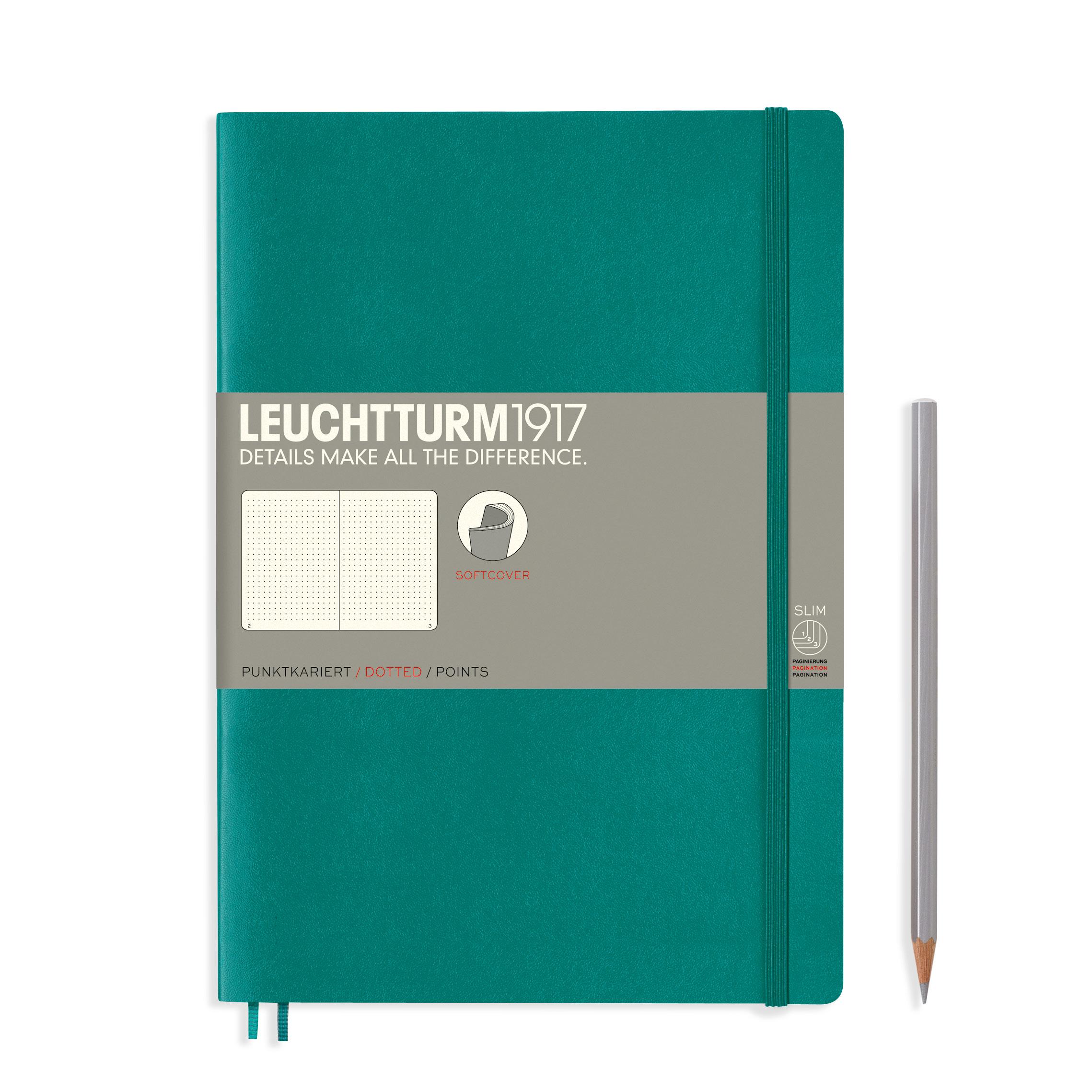LEUCHTTURM 1917 德国灯塔 NoteBook B5软皮 LEU-349299