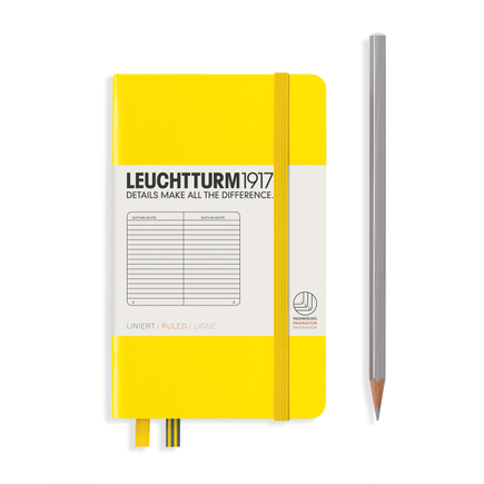 LEUCHTTURM 1917 德国灯塔 NoteBook 口袋本A6硬皮 LEU-308317