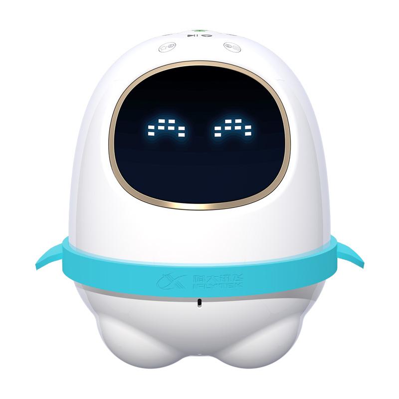 科大讯飞机器人 阿尔法蛋超能蛋智能机器人儿童学习早教玩具国学教育智能对话陪伴机器人 白色