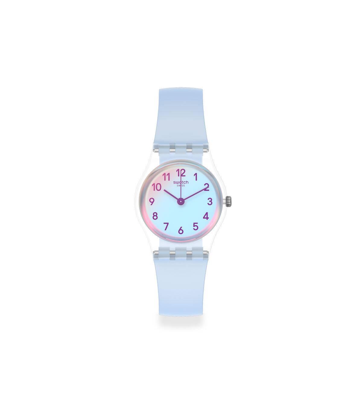 Swatch斯沃琪瑞士腕表2020新品时尚清新小表盘女士石英腕表LK396